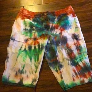 Tie dye shorts by Chico